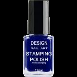 Vernis Stamping Blue