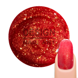 Gel UV Paillette Red