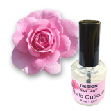 Huile de soin parfumée rose pour cuticule