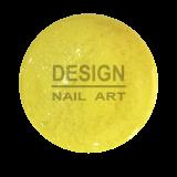 Gel UV Néon Paillette Gold Yellow