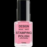 Vernis Stamping Girlie Pink