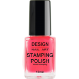Vernis Stamping Neon Pink