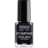 Vernis Stamping Night Black