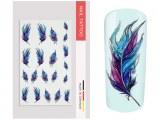 NailArt Tattoo Feather
