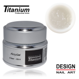 Titanium Acrygel Clear 30ml