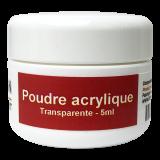 Poudre acrylique Transparente 5ml