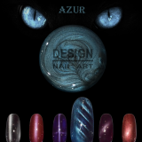 Gel UV Cat eyes Azur
