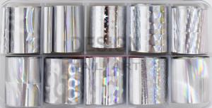 Box Foil Silver Holo