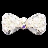 Bijou Nœud Strass perle 3D