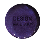 Gel Couleur Metallic Dark Purple