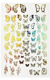 Stickers Arabesque & Butterfly Gold