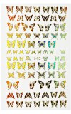 Stickers Papillon Gold