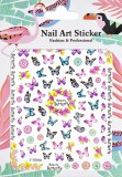 Stickers XL Beauty Butterfly