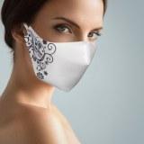 Masque Lavable Motif Noir