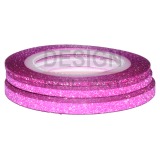 Lot Striping Tape Paillette Fuchsia