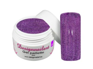 Gel UV Néon Paillette Violet