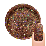 Gel UV Paillette Galaxy HoloRed