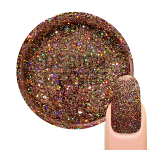 Gel UV Paillette Galaxy HoloRed