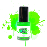 NailArt Color INK Green Néon