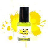NailArt Color INK Yellow Néon