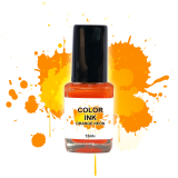 NailArt Color INK Orange Néon