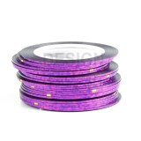 Striping Tape Laser Mauve