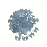 50 noeuds bleu clair