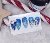 Christmas Nails Blue Edition - Niv 2