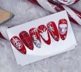 Christmas Nails Red Edition - Niv 1