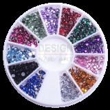 roue de strass différentes couleurs