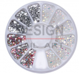 Roue Strass 3 couleurs