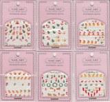 Lot de 6 pochettes stickers Noël