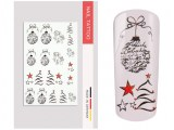 NailArt Tattoo Christmas I