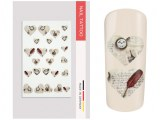 NailArt Tattoo Vintage Heart