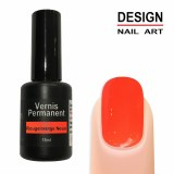 Vernis Permanent Rouge/orange Neon