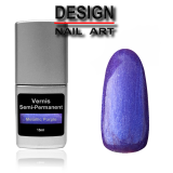 Vernis Semi Permanent Metallic Purple