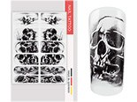 NailArt Wraps skull