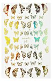 Stickers Butterfly Gold