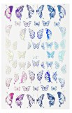 Stickers Butterfly Silver