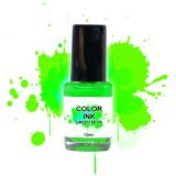 NailArt Color INK Green Néon