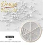 Roue Caviar Silver
